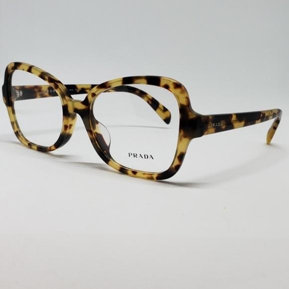 1859e682ea Prada RX New Authentic Eyeglasses ( Havana )